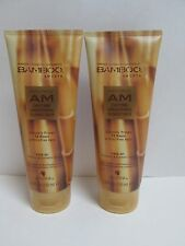 (2) Alterna Bamboo Smooth Anti-Frizz AM Daytime Smoothing Blowout Balm, 5 oz