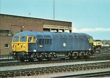English Electric Engine D.220 No. 56022 at York  - Unused Colour Postcard