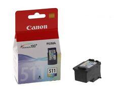 Canon CL511 Colour Genuine Original Ink Cartridge For PIXMA MP260 Inkjet Printer