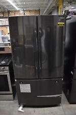 "Samsung Rf260Beaesg 36"" Black Stainless French Door Refrigerator Nob #33994 Cln"