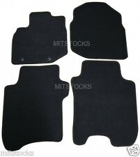FIT FOR 2009-2013 HONDA FIT ALL MODELS BLACK NYLON CARPET FLOOR MATS NEW