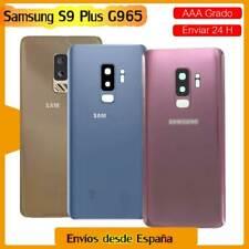 Tapa Batería Samsung Galaxy S9+ Plus SM G965F Carcasa Trasera+cámara lente+LOGO