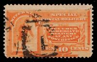 US Scott E3 Used Special Delivery Orange      Cat Val $50.00            ID:M928