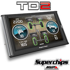 Superchips TrailDash2 TD2 42050 Tuner Programmer Gauge for Jeep Wrangler JK TJ