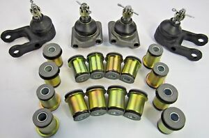 FERRARI 308 GTB GT4 328 246 DINO SUSPENSION CONTROL ARM BUSHINGS BALL JOINTS