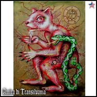 art modern painting figurative contemporary goetia lemegeton flaures demon seal
