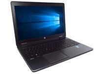 HP Zbook 15 Intel Core i5-4330 2.8GHz 256GB SSD 8GB RAM Grade B