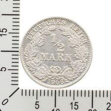 1/2 Mark 1906 G - Silber - bessere Erhaltung !!!