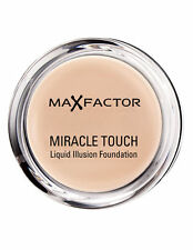 3 X Max Factor Miracle Touch Liquid Illusion Foundation Golden 75
