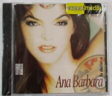 "ANA BARBARA ""TU DECISION"" CD - BRAND NEW - FACTORY SEALED"