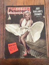 the picturegoer . october 23rd  1954 - marilyn monroe ! dress over the grate