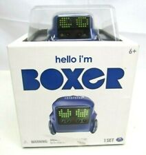 Hello Im Boxer Remote Control Interactive Robot Set NEW Games Cards Tiny Bot 6+