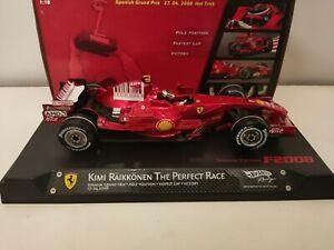 F1 Ferrari F2008 Kimi Raikkonen HAT TRICK 2008 1/18
