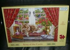 BIG 250 LARGE PIECE JIGSAW PUZZLE,KING OF THE CASTLE.2015,BRIAR COLLECTION