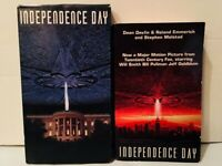 Independence Day 1996 film (VHS and Movie Tie-In Paperback) Will Smith