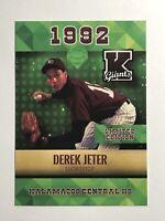 Derek Jeter 1992 Rookie Phenoms ACEO Emerald Kalamazoo Giants - Yankees HOF