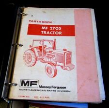 Massey Ferguson MF 2705 Parts Book