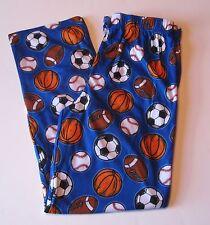 Boy's Arizona Blue All Sport Pajama Sleep Pants PJ Pajamas, XL 18 20, New $20
