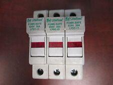 Littlefuse Fuseholder Lpsc-Id 3P 30A 600V Used
