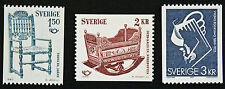 Timbre SUÈDE / Stamp SWEDEN Yvert et Tellier n°1097 à 1099 n** (cyn9)