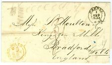 GERMANY/THURN AND TAXIS: Cover to GB Cassel 1853. (2)