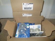 Lot Of 24 Ge 25 Watt Clear Globe Candelabra Base Light Bulbs