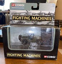 "Corgi Fighting Machines - 2003 - Willys Jeep Vietnam ""Tour Of Duty"""