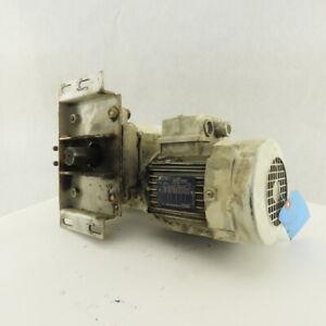 Tem CSM075N15HT 15:1 Ratio 116RPM .75kW 220V 3Ph Gear Motor