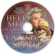 """PERRY STONE-""""Help Me Get Rid Of That """"Eating Spirit""""-CD-NEW-Breaking Stronghold"""
