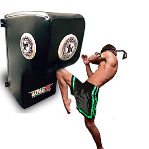 NEW Wall Kick Pads MMA Punch Training Man Dummy, Free-stand Target Punch Pads