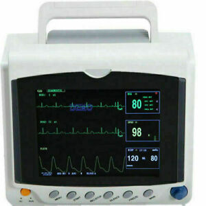 8'' TFT CONTEC Patient Monitor CMS6000C Vital Monitor multi-language interface