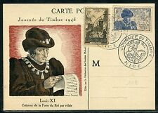 France - Carte de la journée du timbre de Nice en 1945  D 50