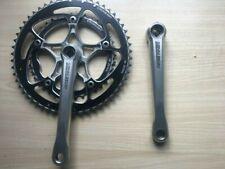 Middleburn, Rennradkurbel, 53/39 Zicral KB von Stronglight schwarz