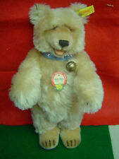 STEIFF Teddy Baby 1930 Replica Teddy Bear Blonde mohair 14 inches EAN 407857