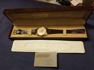 Vintage Hamilton Masterpiece Classic Quartz Men's Watch