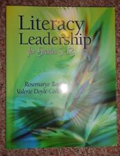 Literacy Leadership for Grades 5-12  Rosemarye Taylor & Valerie Doyle Collin PB