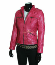 723bdb32796 Pink Leather Outer Shell Coats