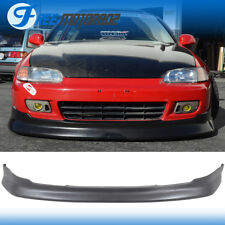 For 92-95 Honda Civic 2Dr 3Dr CS Style Front Bumper Lip Bodykit Urethane