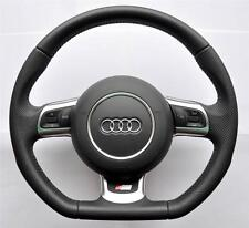 2004-2015 AUDI S Line A3 A4 S4 A5 S5 A6 TT RS Q5 Q7 Flat Bottom steering wheel