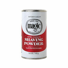 Softsheen Carson Magic Extra Strength Shaving Powder Helps Stops Razor Bumps 5oz