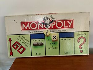 Vintage Monopoly Game 1992 Parker Bros/Tonka  Made in Australia