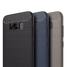 Samsung Galaxy S8 Carbon Outdoor Case Panzer Hülle Cover Hybrid Handyhülle Neu