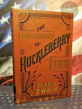 NEW The Adventures of Huckleberry Finn by Mark Twain Bonded Leather Softcover