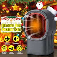 500W Mini Electric Heater Fan PortableHandy Air Warmer Silent Winter  H
