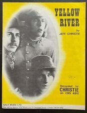 Yellow River, Christie, Sheet Music (^4)