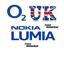 Nokia Lumia o2 UK Unlocking unlock code for Microsoft 535 435 735 530 1520