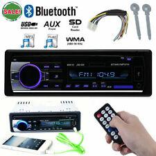 1 DIN Car Radio Bluetooth Stereo Head Unit MP3 Player USB/SD/FM/AUX-In/FM Non CD
