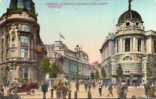 LONDON Aldwych showing the Gaiety Theatre Original Unused Postcard (120L)