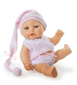 Babypuppe 20 Cm Mädchen Rosa Neu