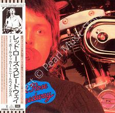 PAUL MCCARTNEY RED ROSE SPEEDWAY CD MINI LP OBI Beatles Wings Linda Denny Laine